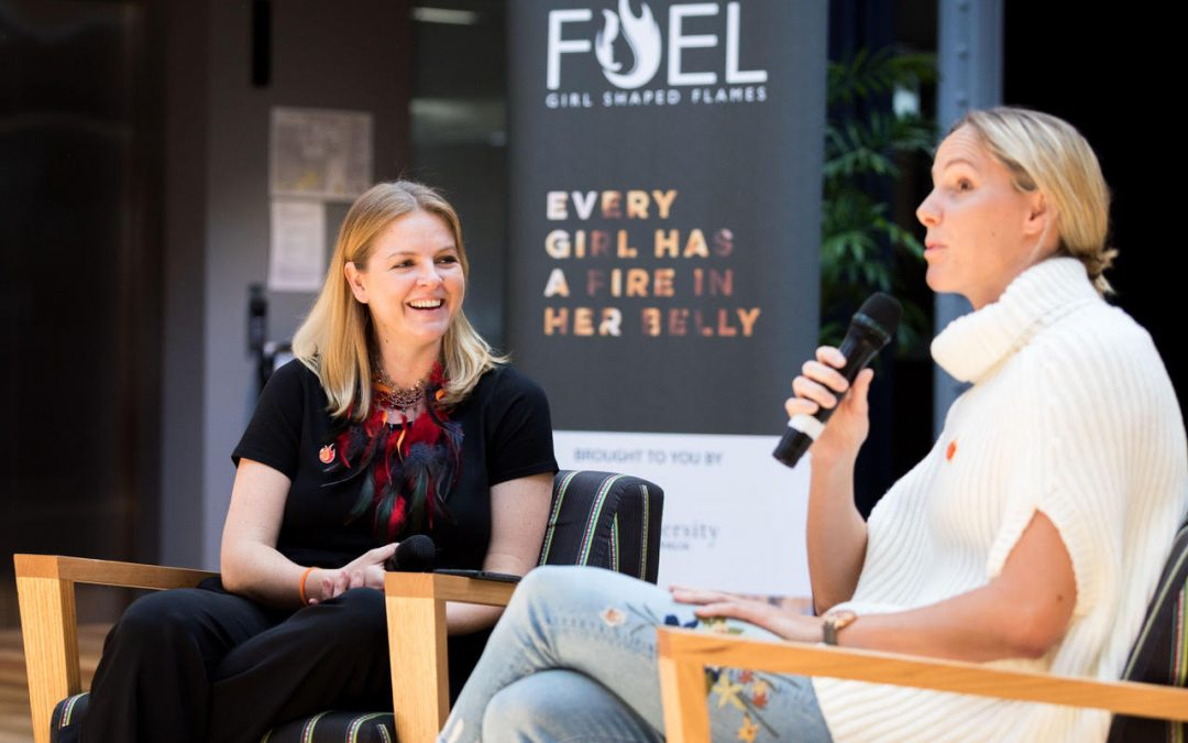 Meet our Mentors: Tanya Meessmann from Girl Shaped Flames